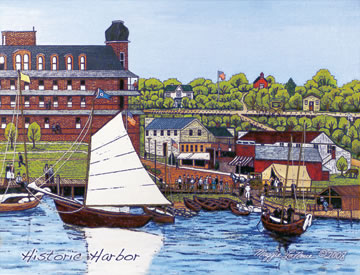 Harbor Springs art print