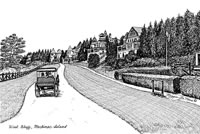 West Bluff Mackinac Island Print